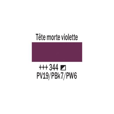 AMSTERDAM ACRYLIQUE 120ML 344 TETE M.VIOLET