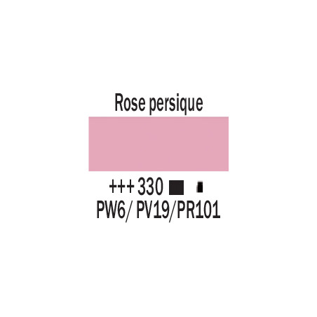 AMSTERDAM ACRYLIQUE 120ML 330 ROSE PERSIQUE
