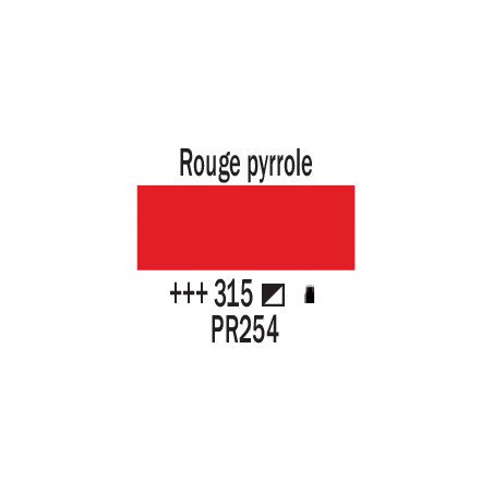 AMSTERDAM ACRYLIQUE 120ML 315 ROUGE PYRROLE