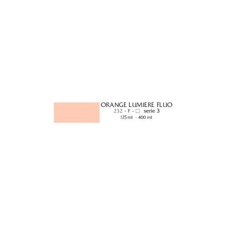 FLASHE VINYLIQUE 125ML 232 FLUO ORANGE LUM