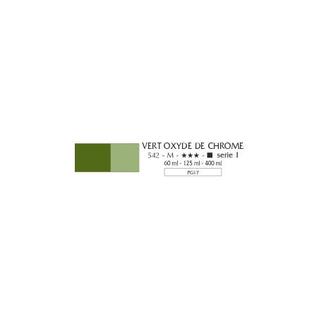 FLASHE VINYLIQUE 125ML 542 VERT OXYDE CHROME