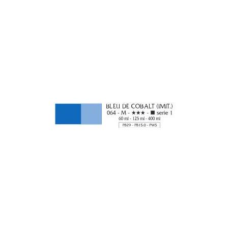 FLASHE VINYLIQUE 125ML 064 BLEU COBALT IMIT