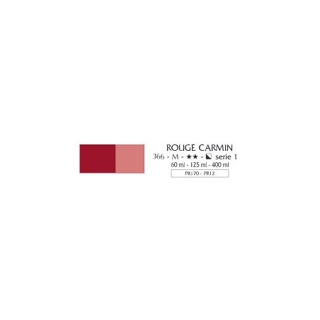 FLASHE VINYLIQUE 125ML 366 ROUGE CARMIN