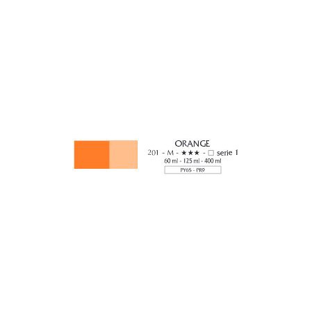 FLASHE VINYLIQUE 125ML 201 ORANGE
