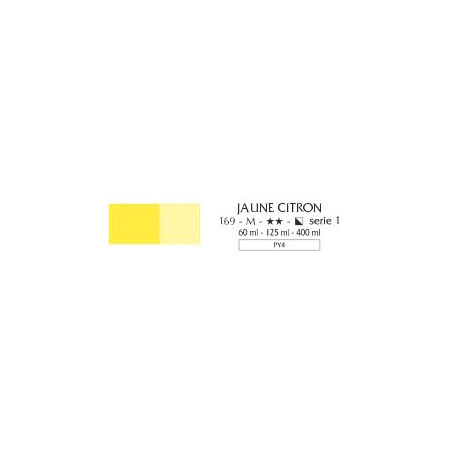 FLASHE VINYLIQUE 125ML 169 JAUNE CITRON