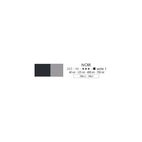 FLASHE VINYLIQUE 750ML S1 265 NOIR