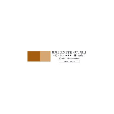 FLASHE VINYLIQUE 400ML S1 482 TERRE SIENNE NATURELLE / A EFFACER