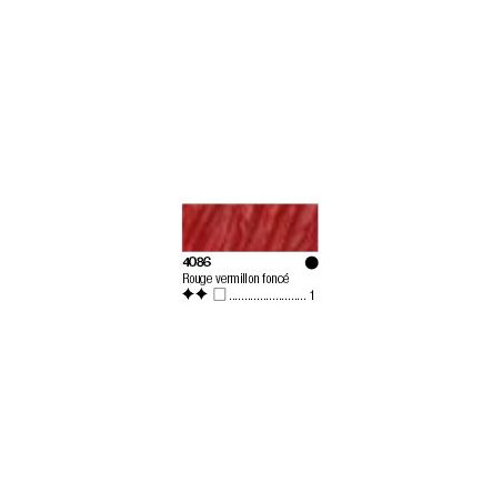 LUKASCRYL PASTOS EXTRA FINE 200ML S1 4086 ROUGE VERMILLON FONCE