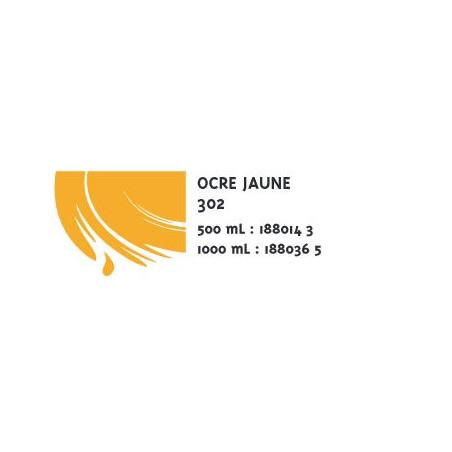 COLOR&CO GOUACHE 1L 302 OCRE JAUNE