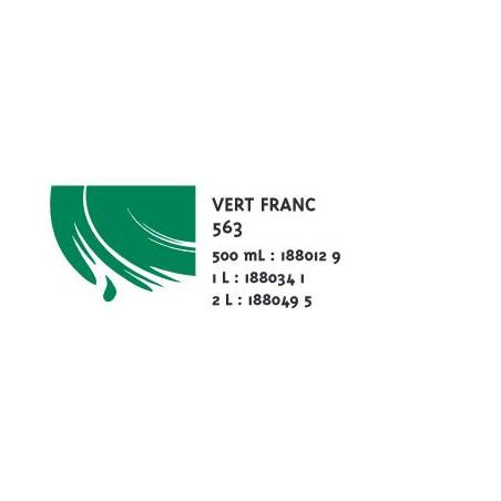 COLOR&CO GOUACHE 1L 563 VERT FRANC